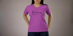Vidéo personnalisée t-shirt femme; Personnaliser la couleur du t-shirt